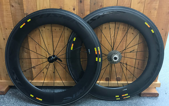 Mavic Cosmic CXR 80 Wheelset